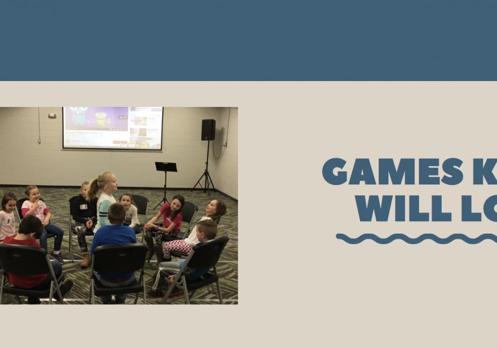 3 Games Kids LOVE
