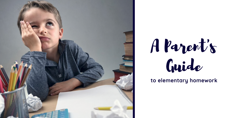 A Parent's Guide to Elementary Homework